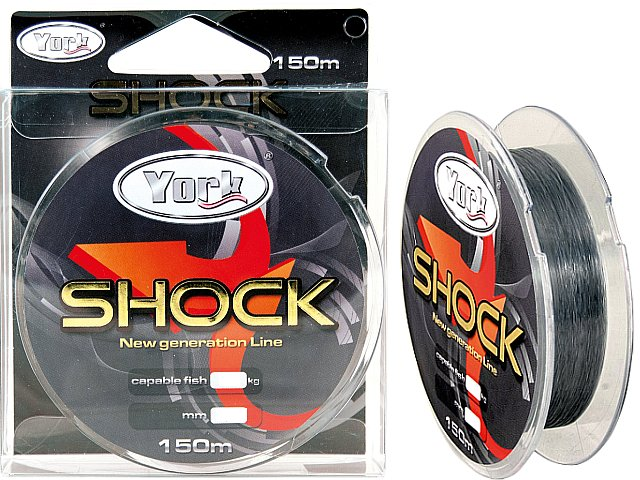Żyłka YORK SHOCK 150m/ 0,35mm/ 23kg